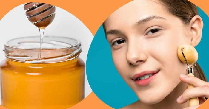 how to use honey for face in hindi