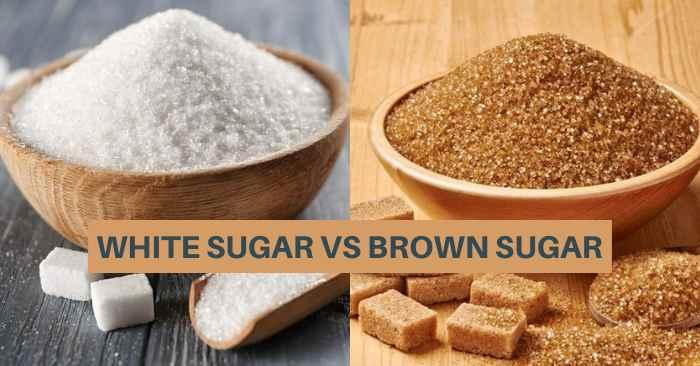 brown sugar vs white sugar in hindi